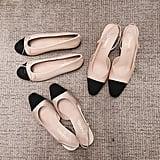 Blogger Elle Ferguson 'grammed a few pairs – lucky!