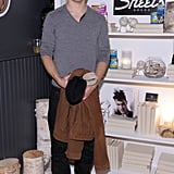 Justin Long went to a Stella Artois party.