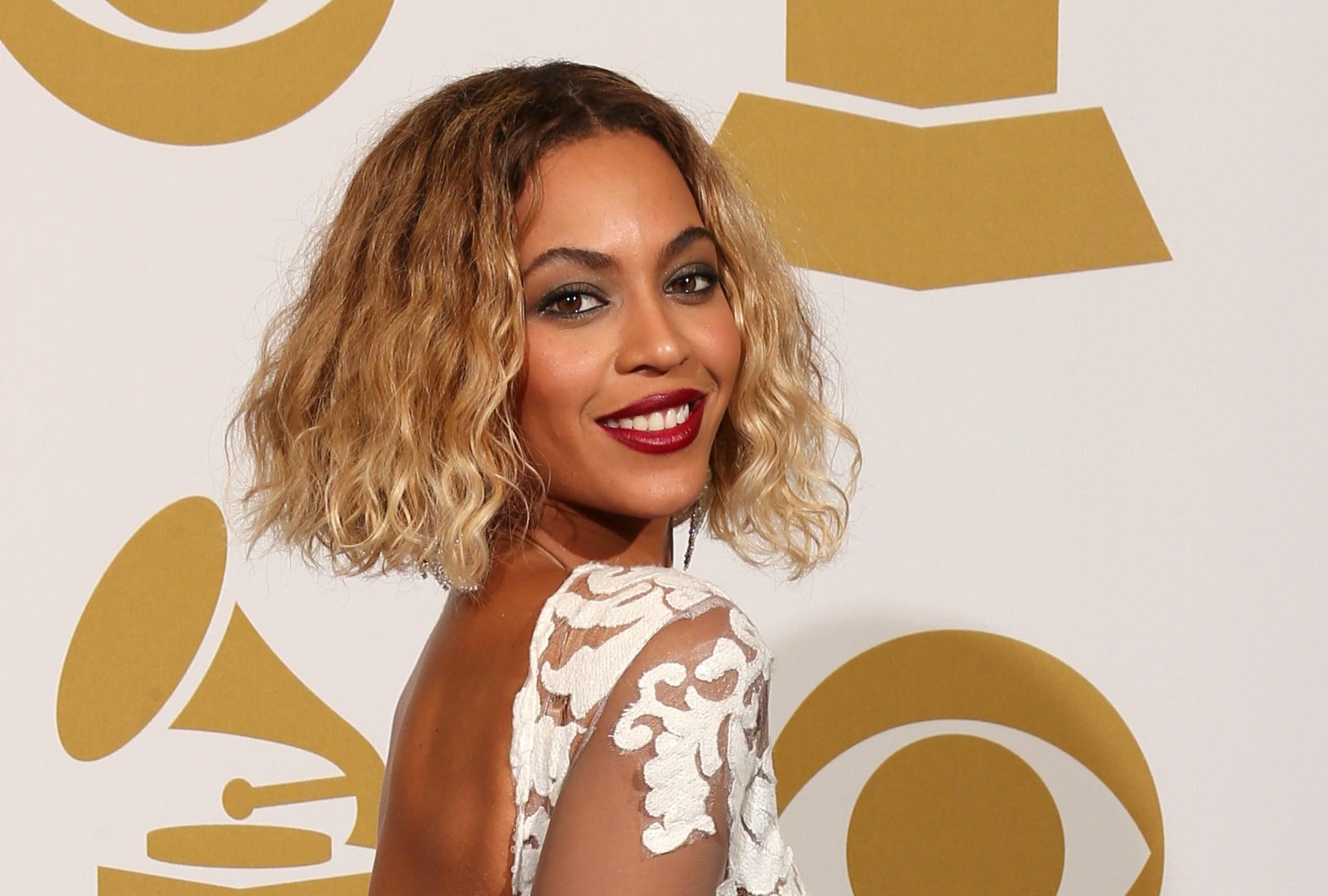 Beyonce S Wavy Bob Haircut In 2014 The Best Celebrity Wavy