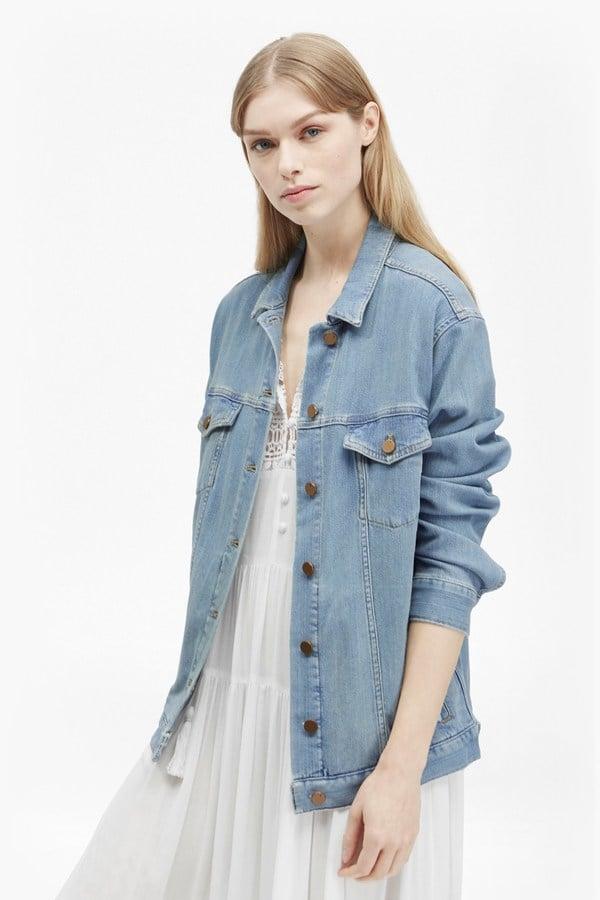 Slouchy Western Denim Jacket ($198)