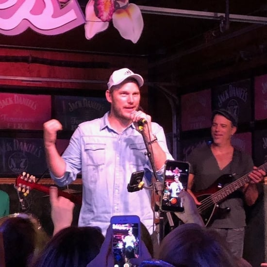 Chris Pratt Sings Country Music at Nashville Bars July 2019