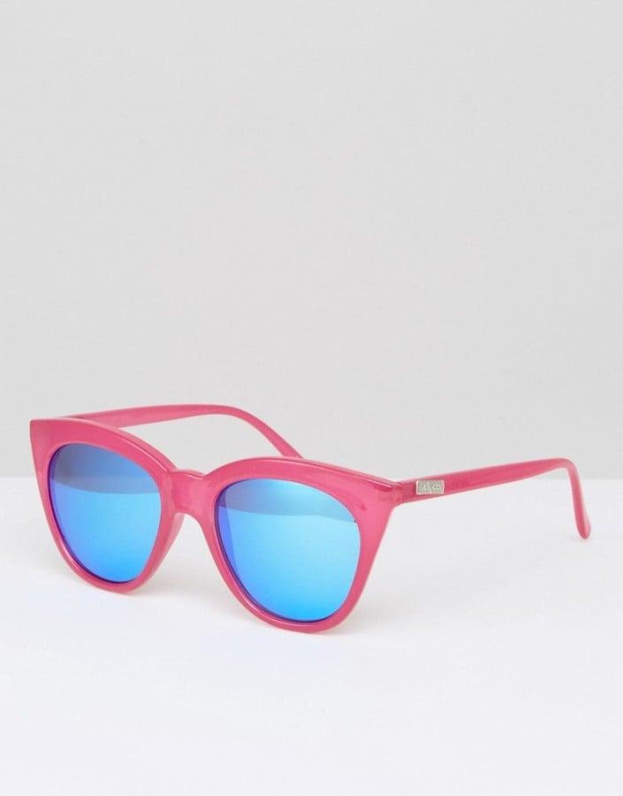 Le Specs Hot Large Cat Eye Sunglasses