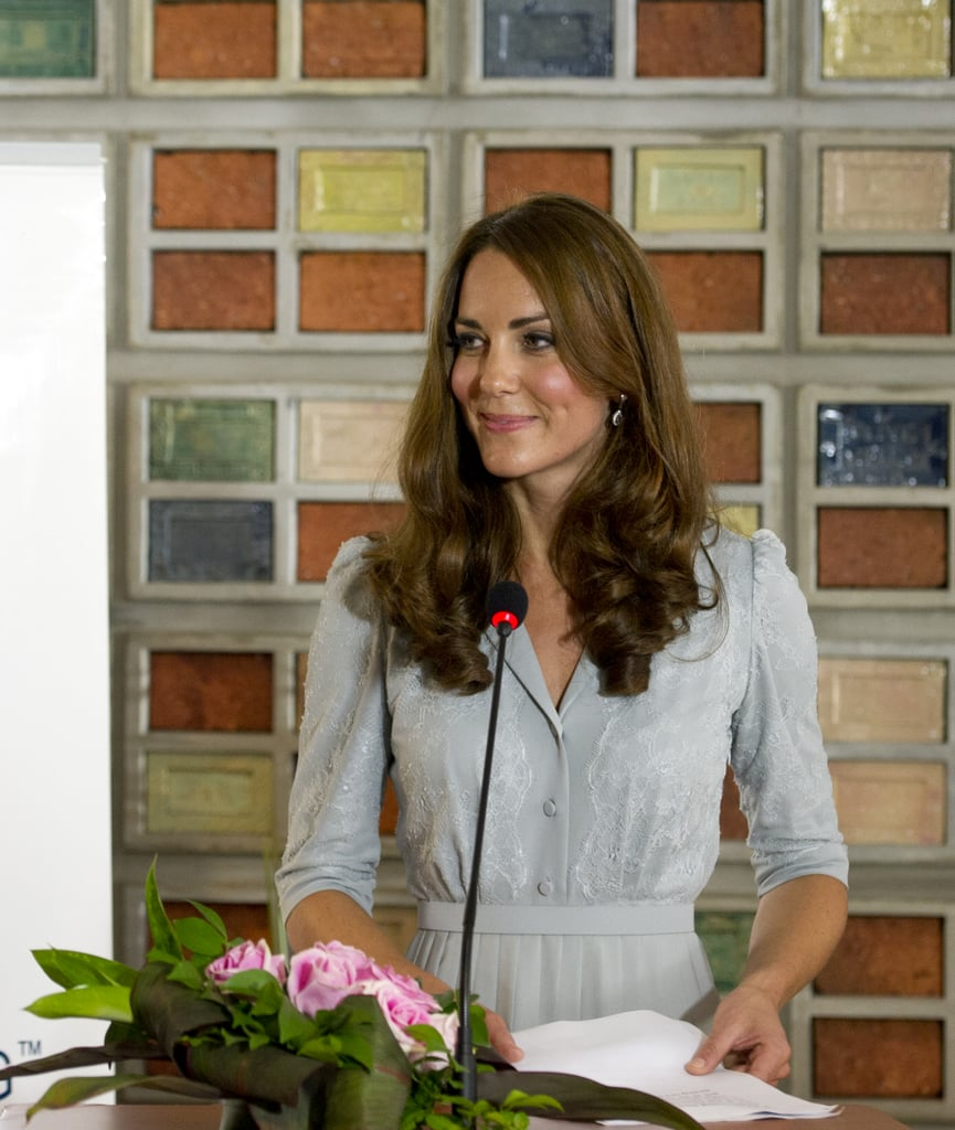 Kate Gives Her First Speech Abroad in Malaysia!