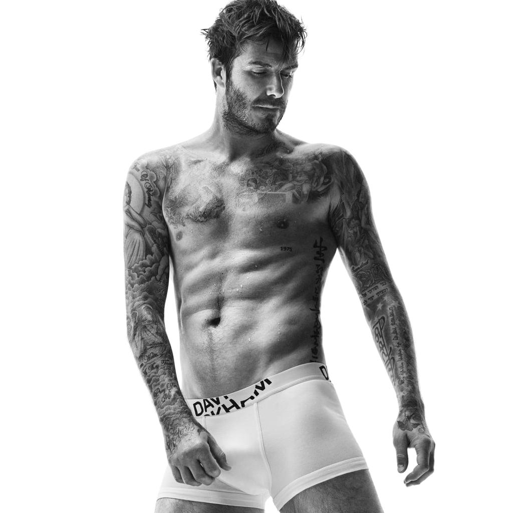 David Beckham's New Underwear Ad For H&M