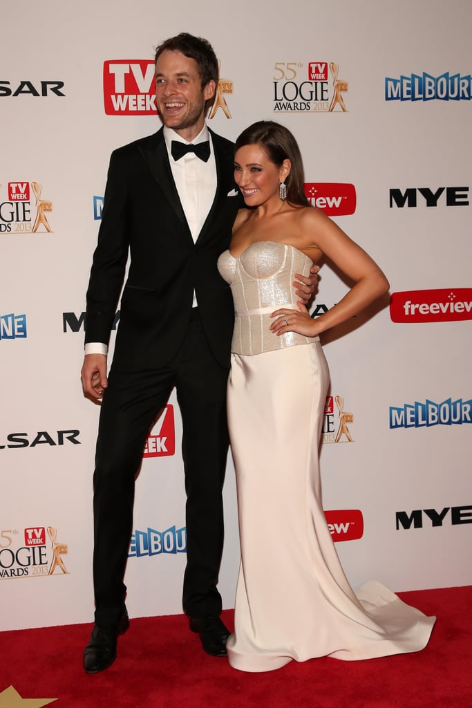 Hamish and wife Zoë walked the red carpet together at the Logies in April 2013.