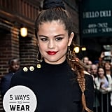 Selena Gomez knows her way around a braid, and we narrowed it down to our top five favorite versions.