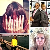 Take a look at what our favorite fashionable celebs and models were up to this week via our Twitter photo roundup.