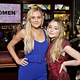 Kelsea Ballerini and Sabrina Carpenter at the 2020 Women in Harmony Brunch in LA