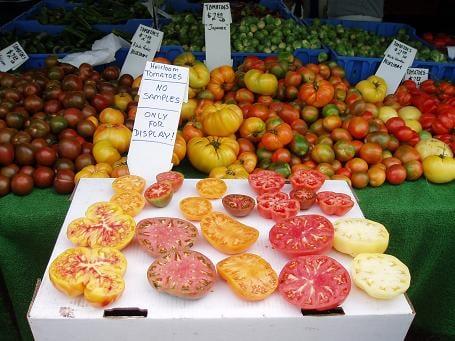 Santa Monica Farmers Market, Santa Monica, CA