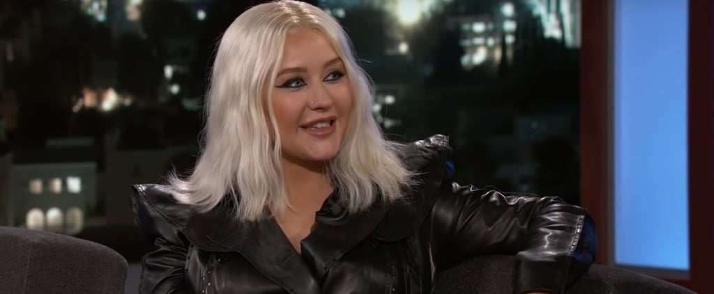 Christina Aguilera on Jimmy Kimmel Live September 2018