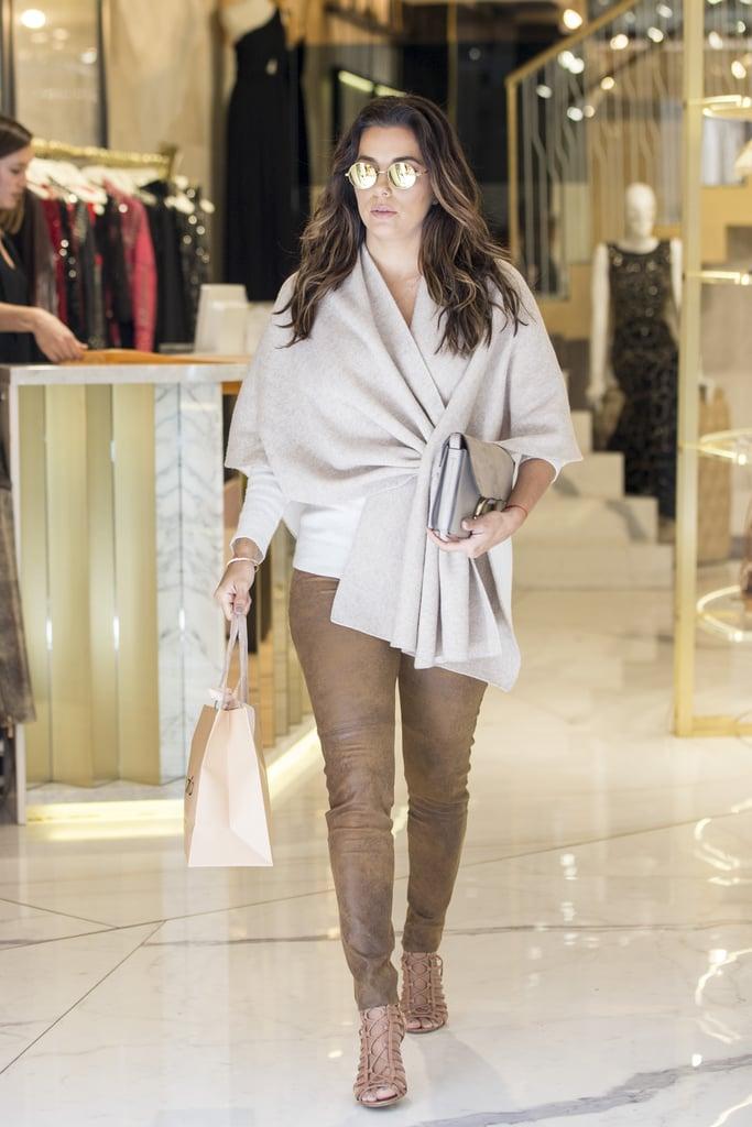Eva Longoria Shopping in Madrid, Spain