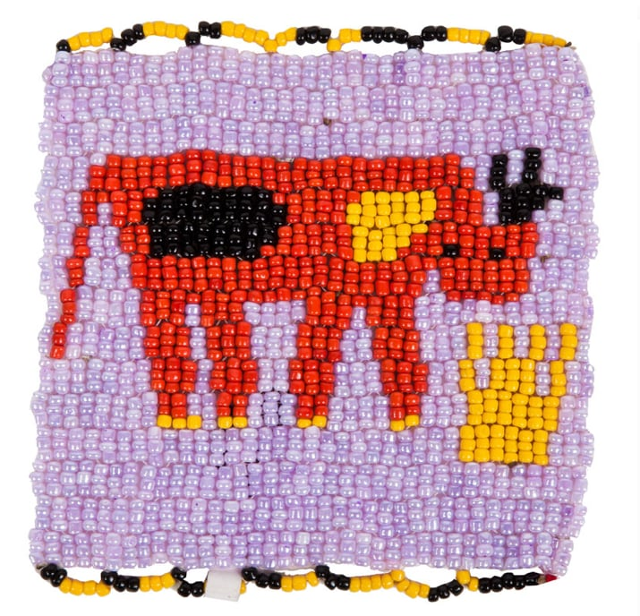 This colorful beaded coaster ($25) will liven up any tabletop, and sales go toward supporting an indigenous community of women in South Africa.