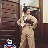 Vanessa Hudgens Dressed Up as a Ghostbuster in 2019