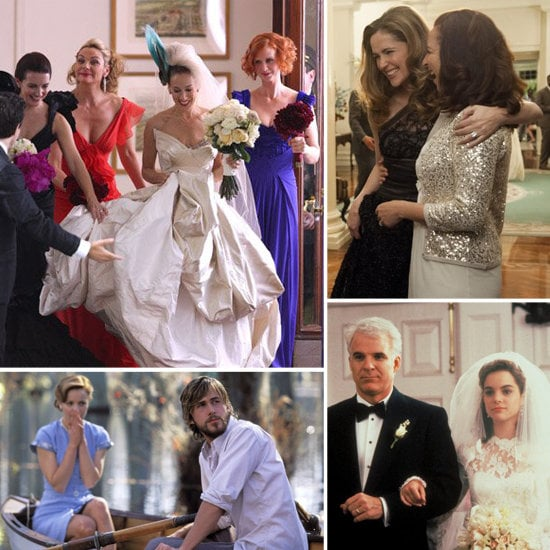 Check out Très for some bridal dos and don'ts from movie weddings.