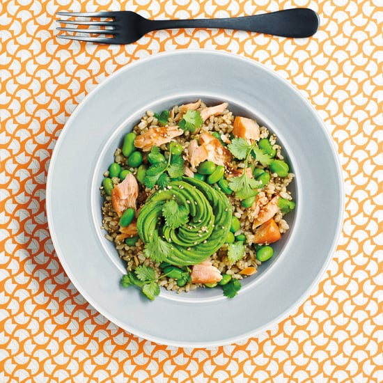 Avocado Salmon Rice Bowl Recipe