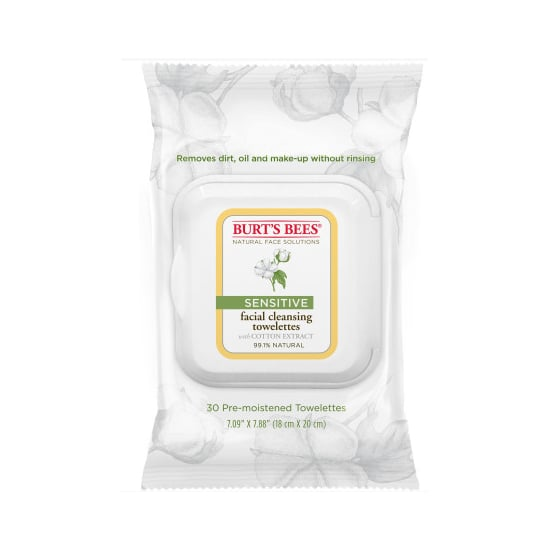 Burt's Bees Sensitive Facial Cleansing Wipes, $7.96