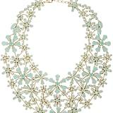 BCBG Max Azria Floral Statement Necklace