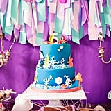 """""""We can't forget about the amazingly gorgeous mermaid birthday cake from Charm City."""""""