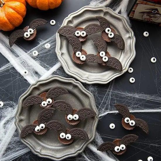 Chocolate and Peanut Butter Bat Bite Halloween Recipe