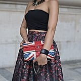 The Union Jack is always a statement-maker.