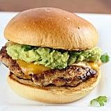 Guacamole Chicken Burgers