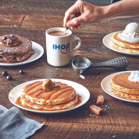 IHOP's Latte-Flavored Pancakes