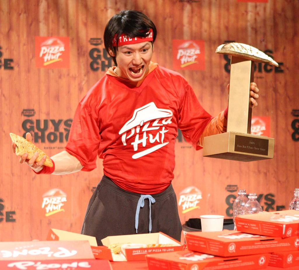 Pizza Hut P'Zone Eating Competition