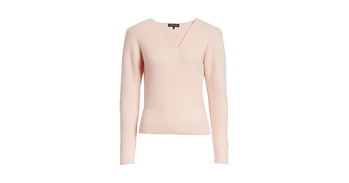bb16a790 Puff Sleeve Sweater | Something Navy November Nordstrom Drop ...
