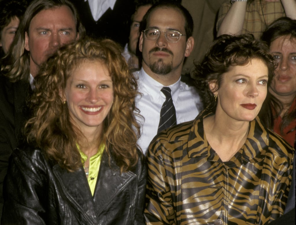 She and her Stepmom costar Susan Sarandon sat side by side at the Todd Oldham Fashion Show in 1995.