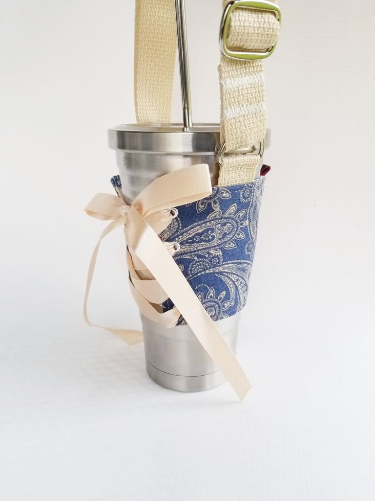 Denim Cup Corset