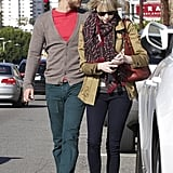 Emma Stone and Andrew Garfield Puppy Shopping Pictures