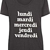 J.Crew Weekdays Printed Cotton T-Shirt ($40)