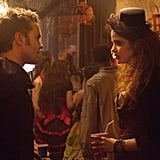 Thomas Dekker as Adam and Shelley Hennig as Diana on The Secret Circle.  Photo courtesy of The CW