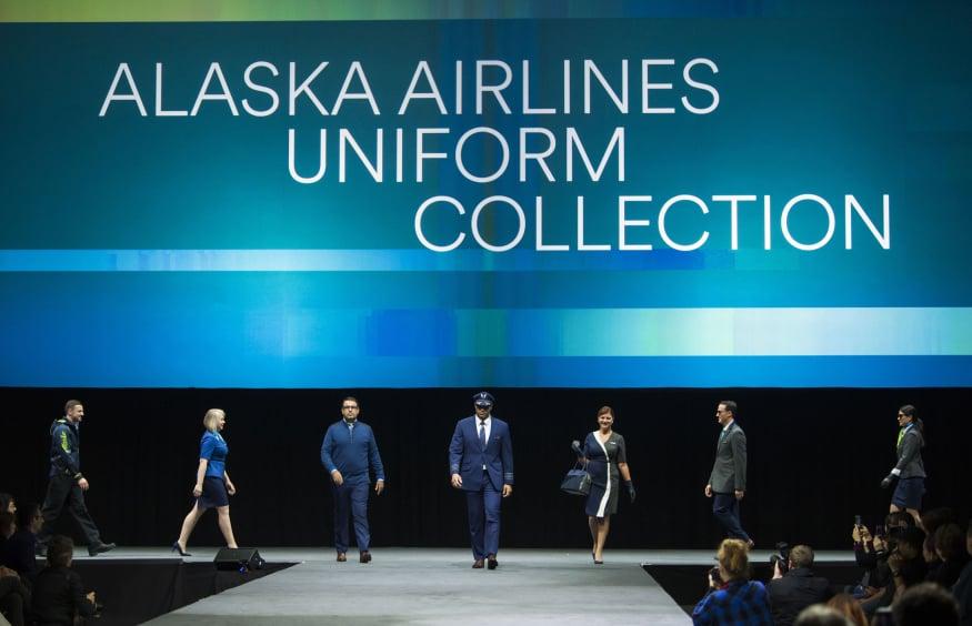 Alaska Airlines Employee Uniforms 2018 | POPSUGAR News