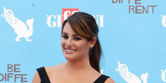Lea Michele Reminds Us Why Everyone Should Own A LBD