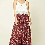 Forever 21 Contemporary Floral Maxi Skirt ($20)