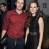 Almost a year before the two went public with their relationship, Leighton and Adam posed together at an afterparty for their movie, The Oranges, in September 2012.