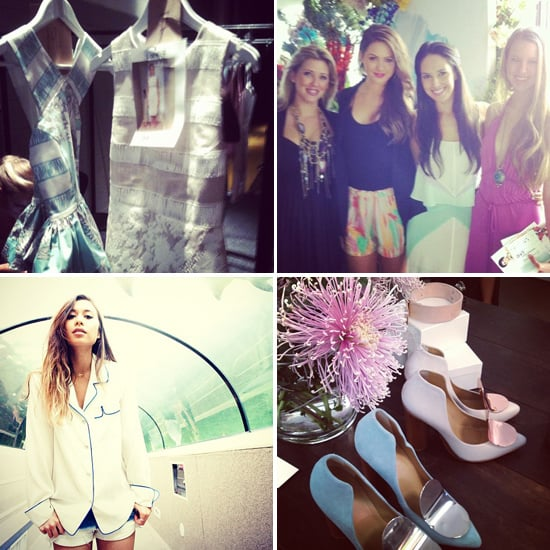 All The Behind The Scenes Candid Pictures From 2012 MBFWA With Rumi Neely, Elin Kling & More