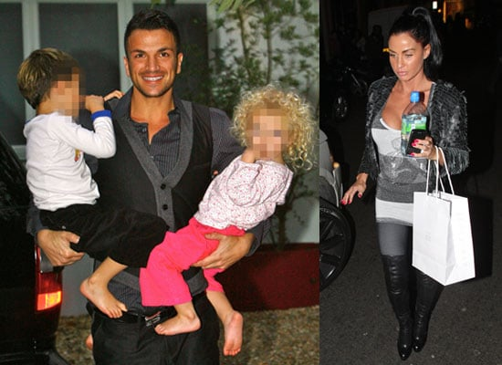 Photos of Peter Andre and Katie Price