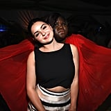 Ariel Winter got hilariously photobombed by Gabourey Sidibe during the Fox/FX party.