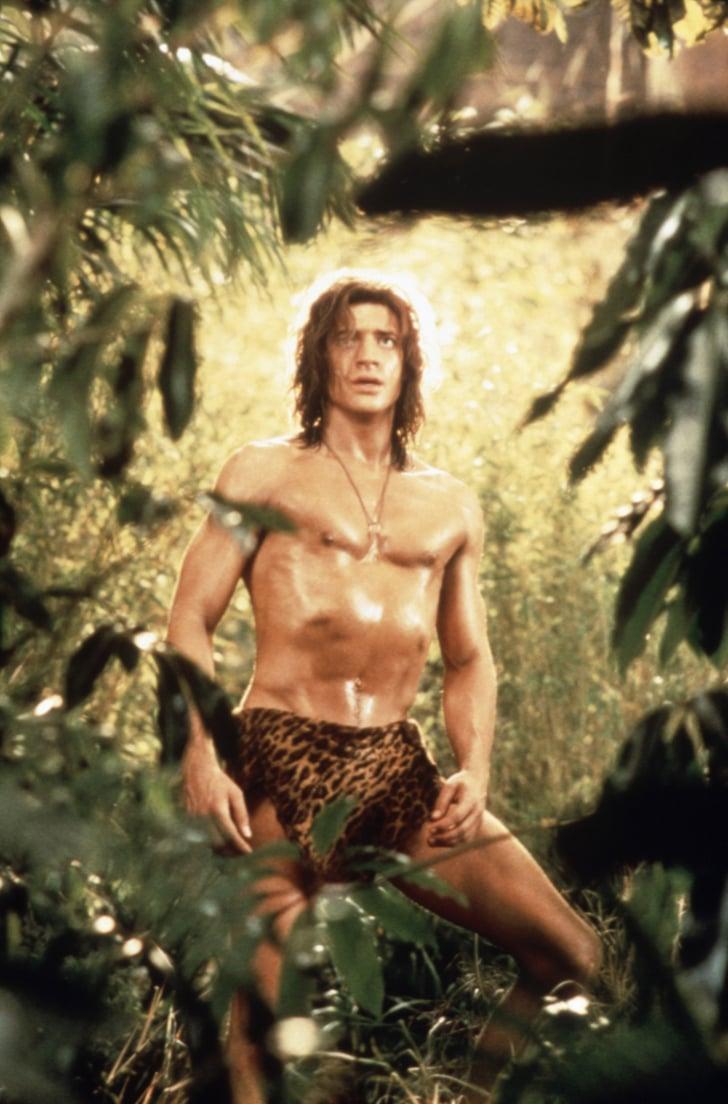 brendan fraser in george of the jungle pictures popsugar George of the Jungle DVD