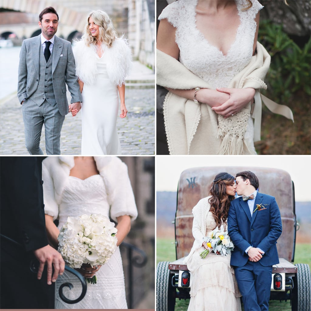Cold Weather Wedding Dress Cover Ups Popsugar Fashion