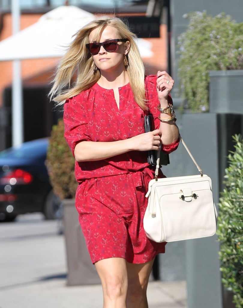 Reese Witherspoon sported a pair of sunglasses.