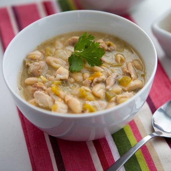 30-Minute Popcorn Chicken Chili