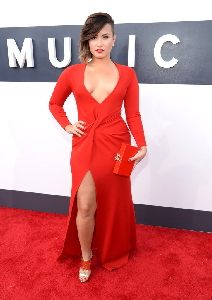 A Sexy Red Gown
