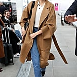 Kaia Gerber's Street Style at Milan Fashion Week