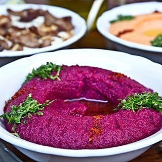 Beetroot Moutabal