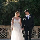 Amy Schumer's Monique Lhullier Wedding Dress
