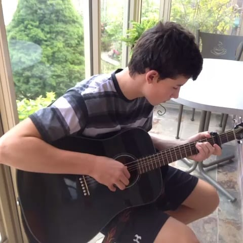 He got his start playing music on Vine.