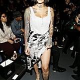 Kehlani at the Laquan Smith New York Fashion Week Show